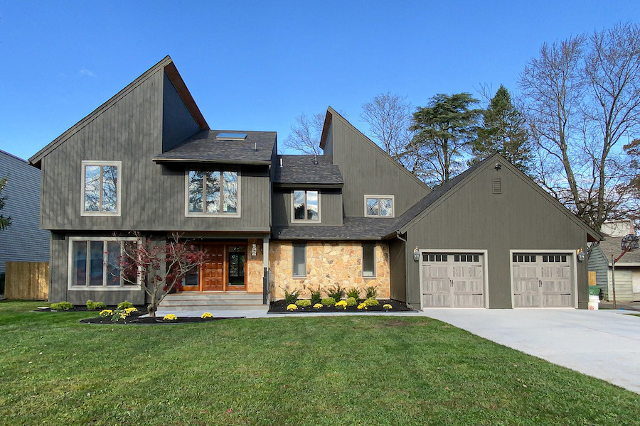house for sale cherry hill contemporary exterior front