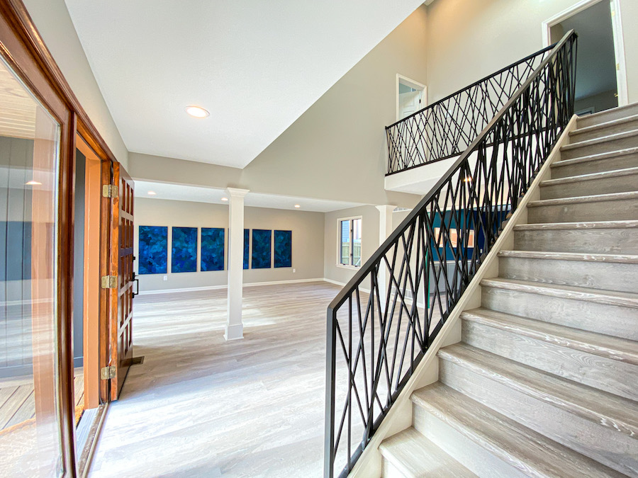 house for sale cherry hill contemporary foyer and living room