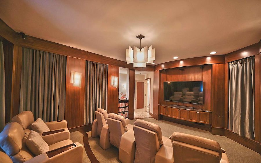 house for sale East Stroudsburg manor home theater
