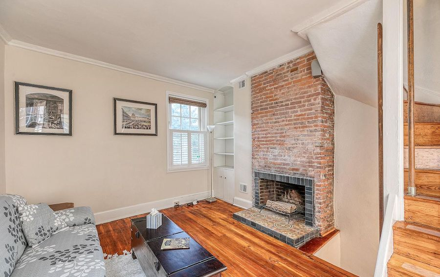 house for sale queen village expanded trinity living room