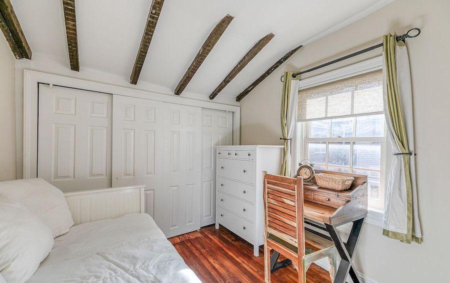 second-floor rear bedroomq