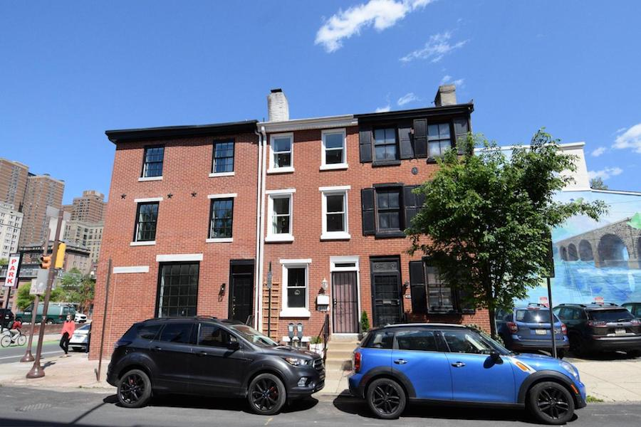 house for sale Rittenhouse Square modern trinity exterior front