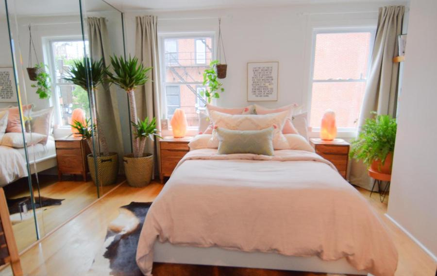 house for sale Rittenhouse Square modern trinity top-floor bedroom