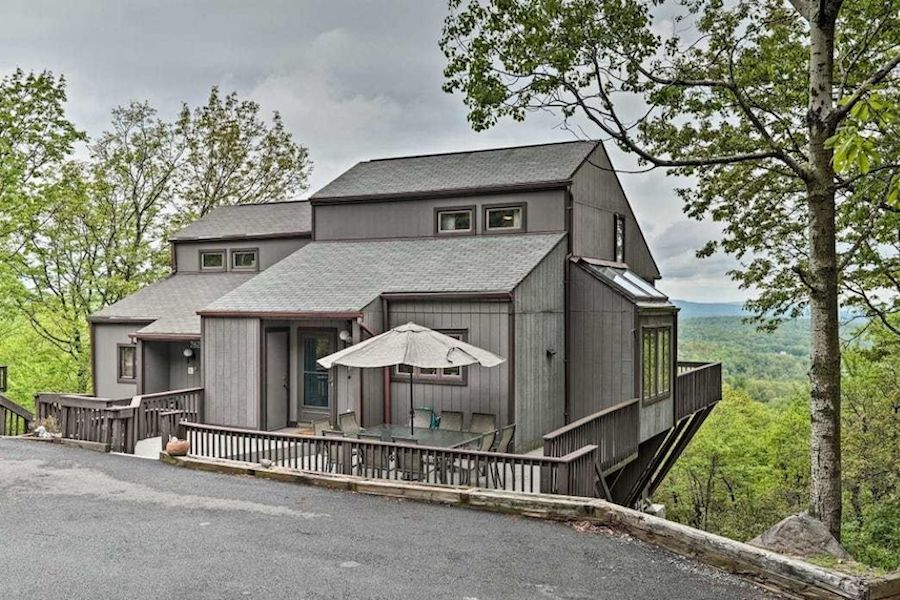 house for sale tannersville contemporary exterior front