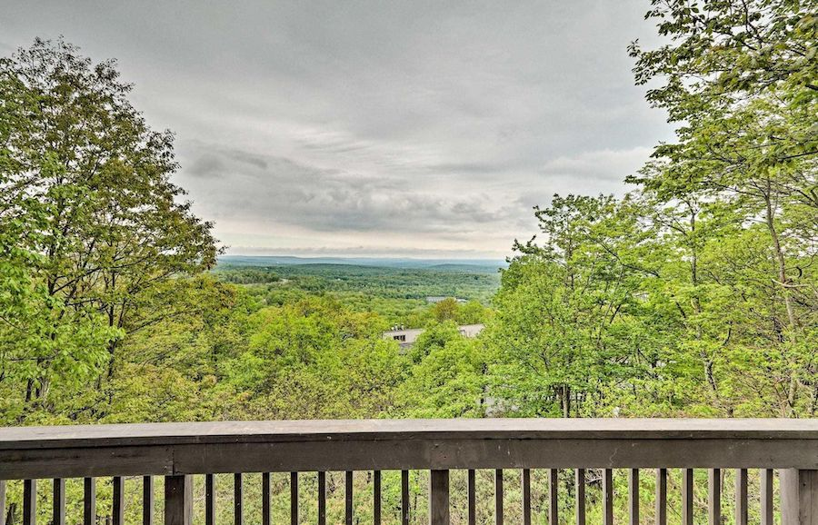 house for sale tannersville contemporary view to north