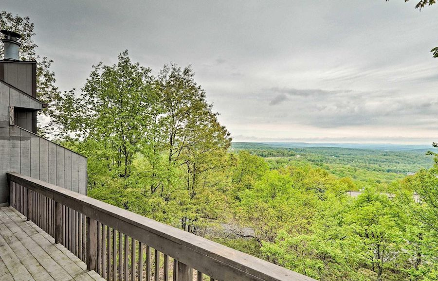 house for sale tannersville contemporary view to west