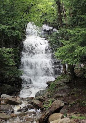 lot for sale bear creek waterfall falls at high flow