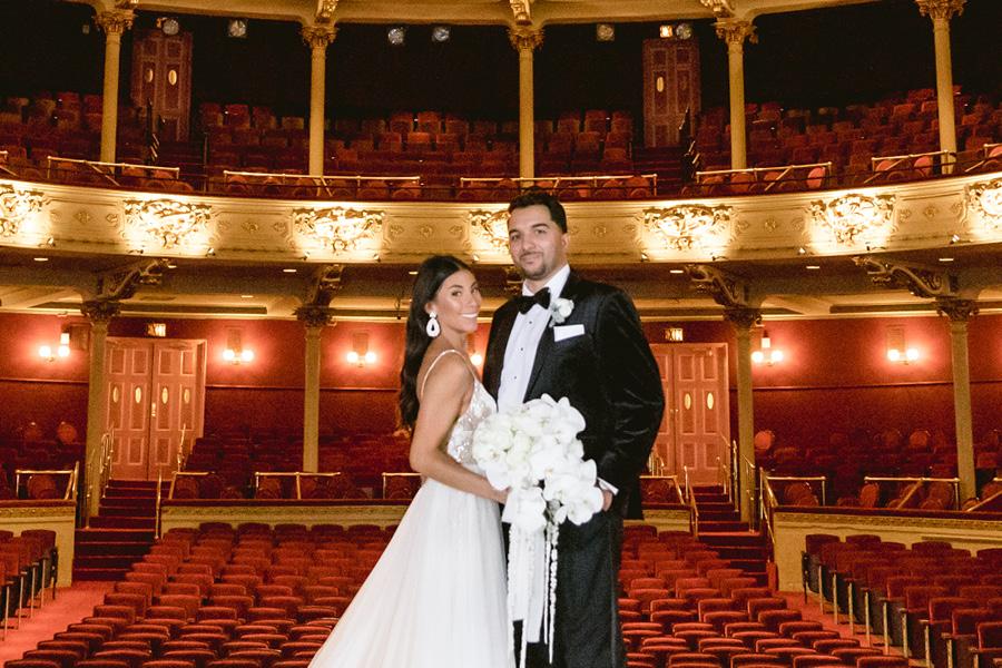 Academy of Music wedding