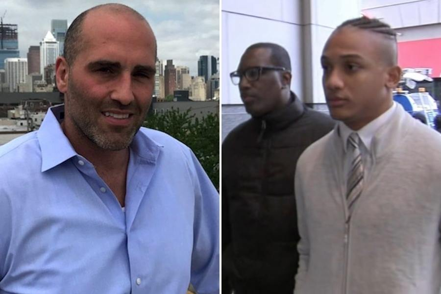 sean schellenger and michael white, the man who killed him, who are both the subject of a new documentary by tigre hill