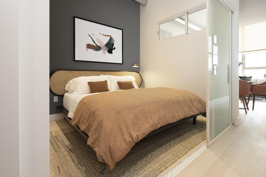 model 1br bedroom