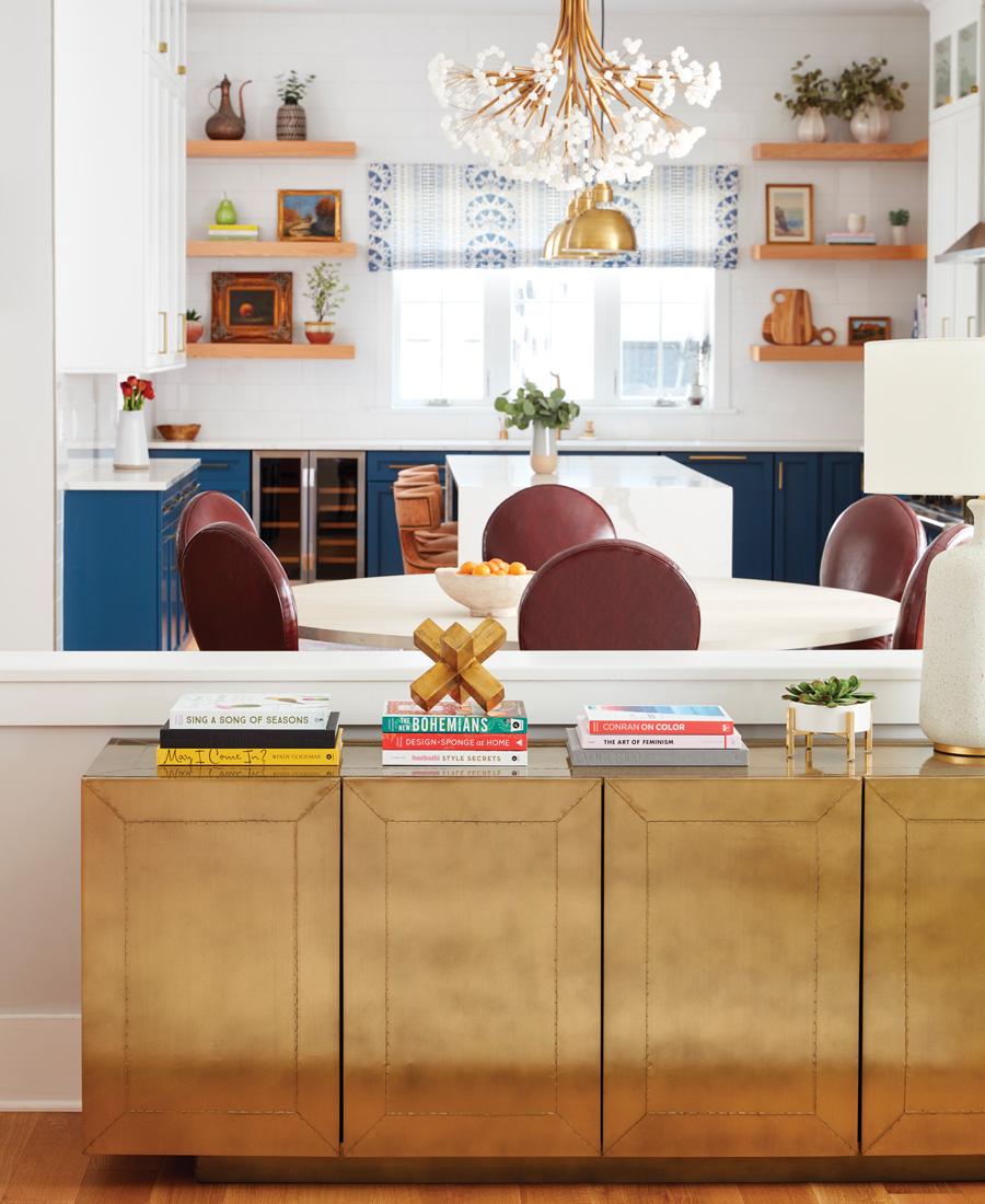 bright color home design
