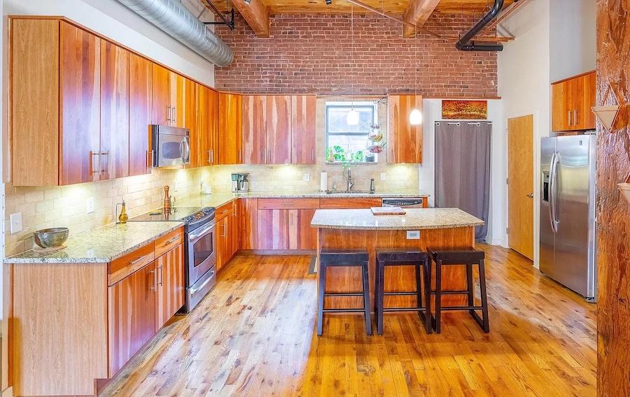 condo for sale south Kensington loft kitchen