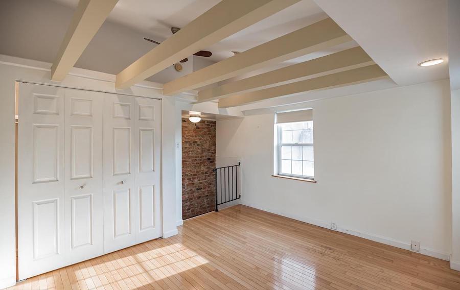 third-floor bedroom