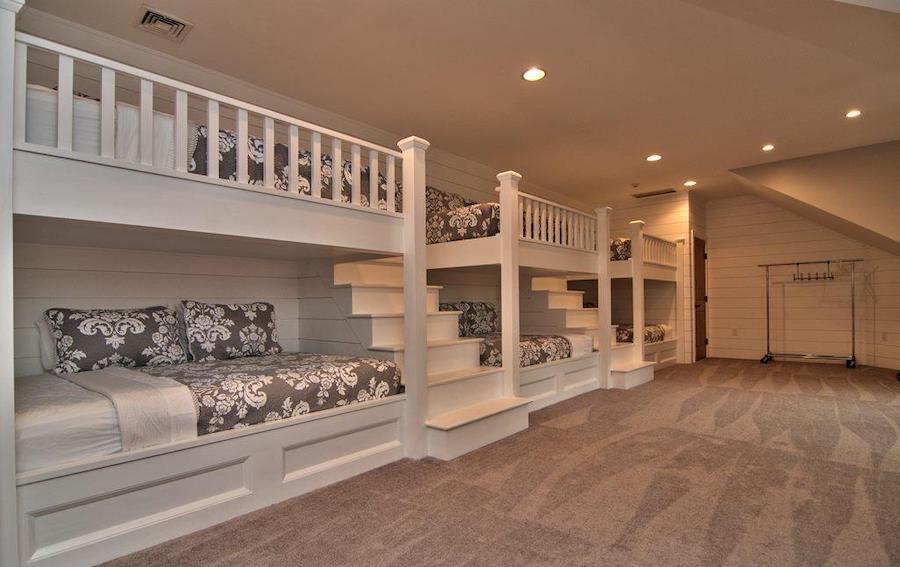 upper-level bedroom