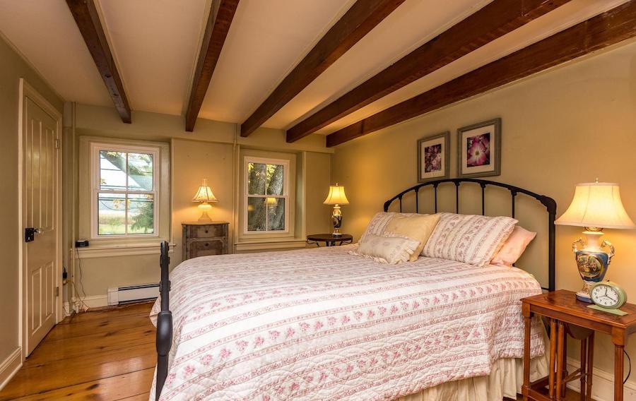 second-floor bedroom