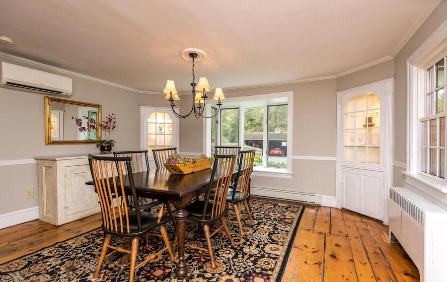 house for sale Doylestown Gothic revival dining room