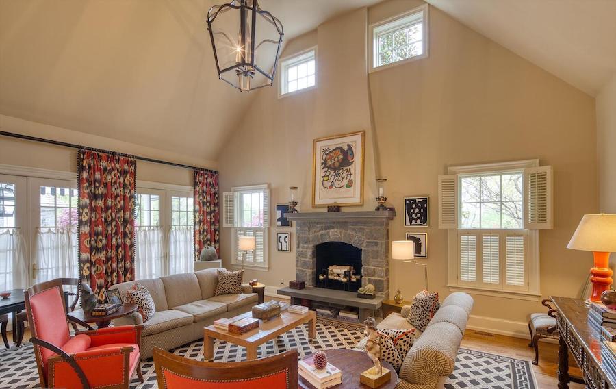 house for sale Gladwyne colonial farmhouse great room