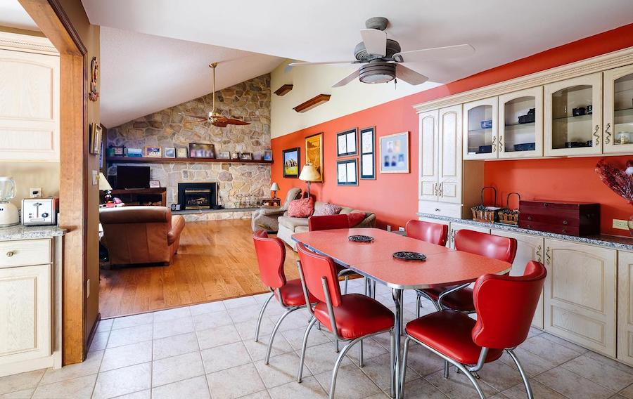 house for sale new hope modern castle dining room and great roomq