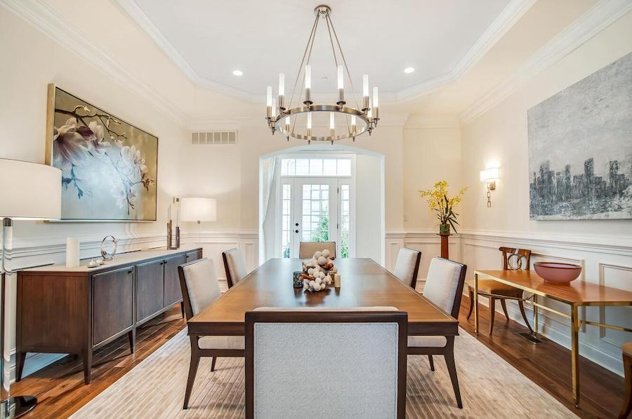 house for sale Newtown Square neotraditional dining room