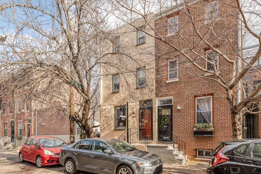 house for sale queen village updated trinity exterior front