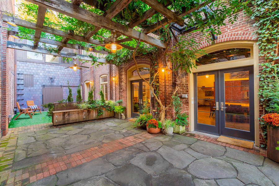 house for sale Rittenhouse square converted carriage house