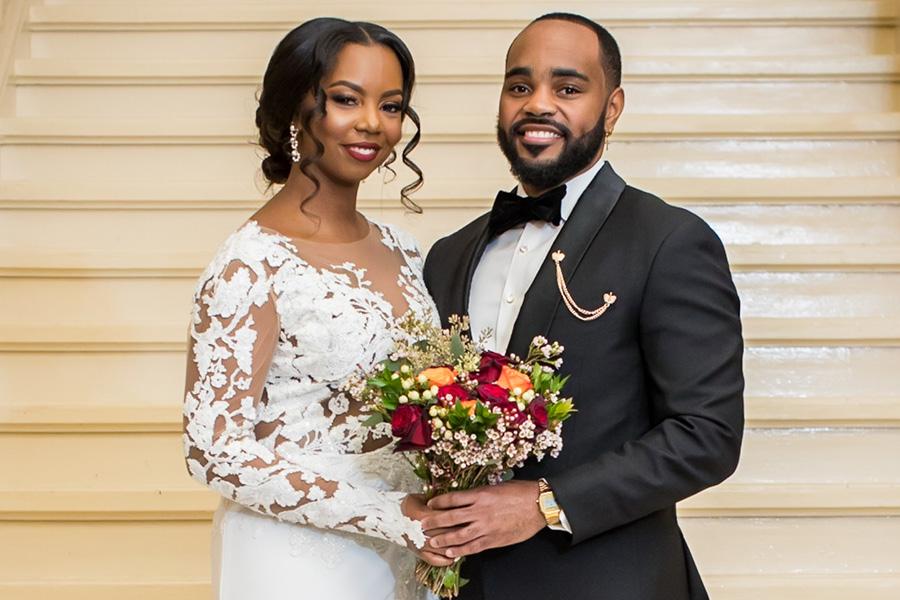 Mariage du Mois de l'histoire des Noirs de Philadelphie