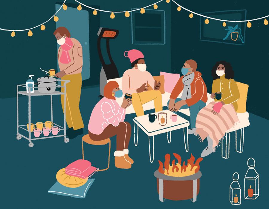 outdoor winter hangouts