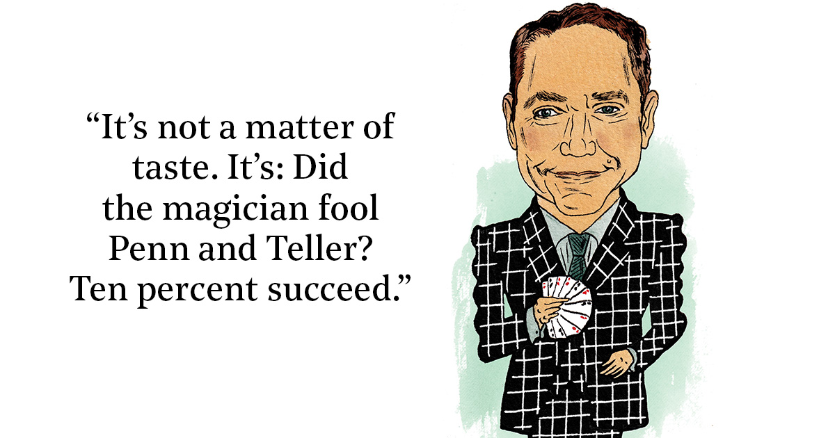 Magician Teller on What He Misses Most About Philly