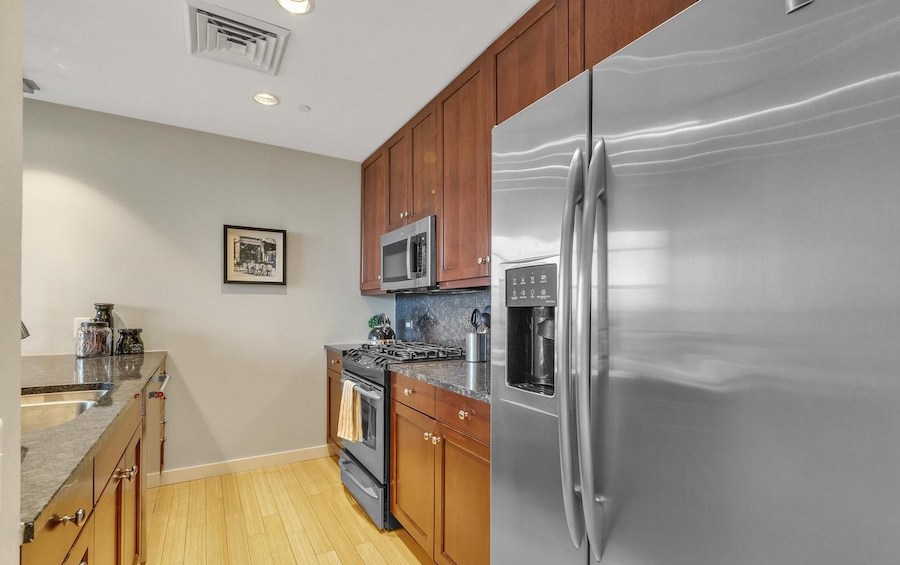 condo for sale old city penthouse kitchen