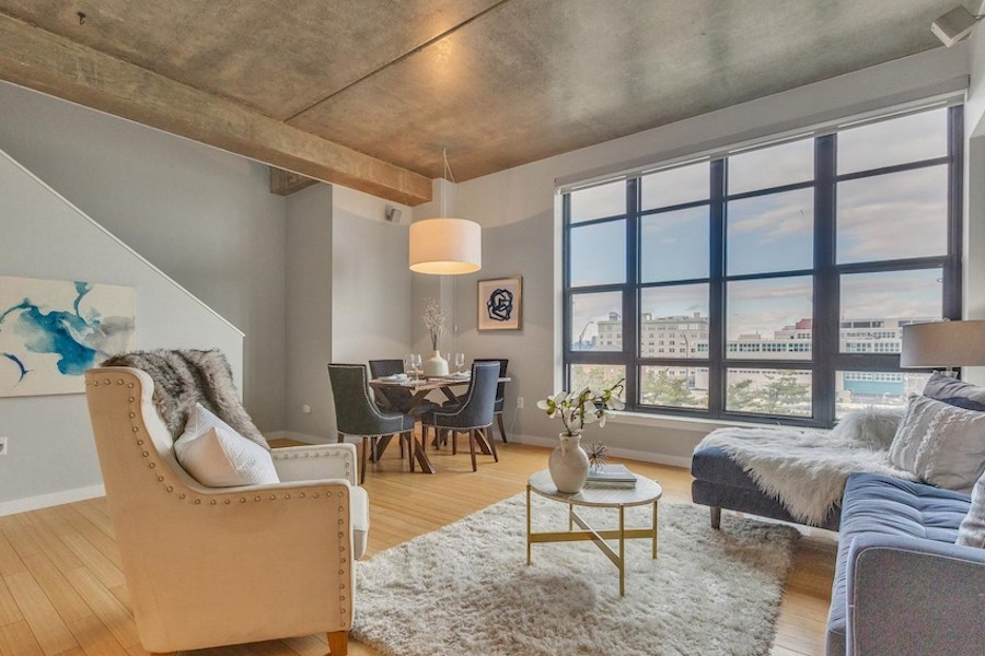condo for sale old city penthouse main floor great room