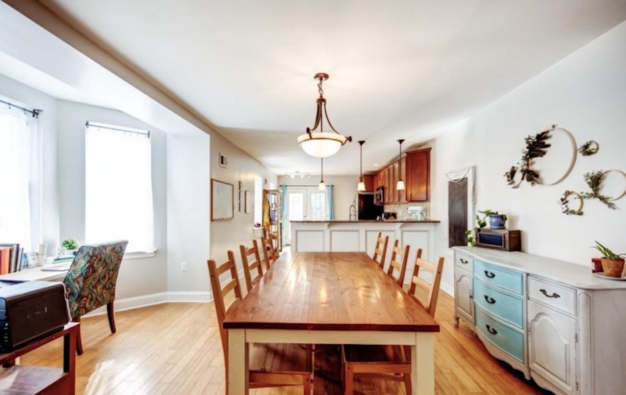 house for sale mount airy victorian twin dining room