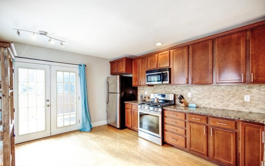 house for sale mount airy victorian twin kitchen