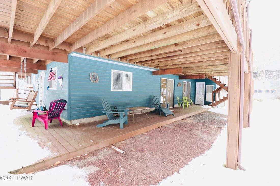 basement deck