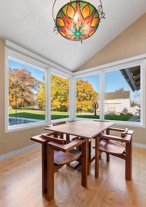 house for sale malvern modern farmhouse breakfast room