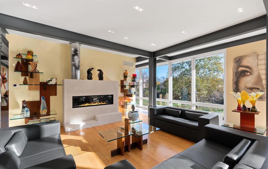 house for sale malvern modern farmhouse living room