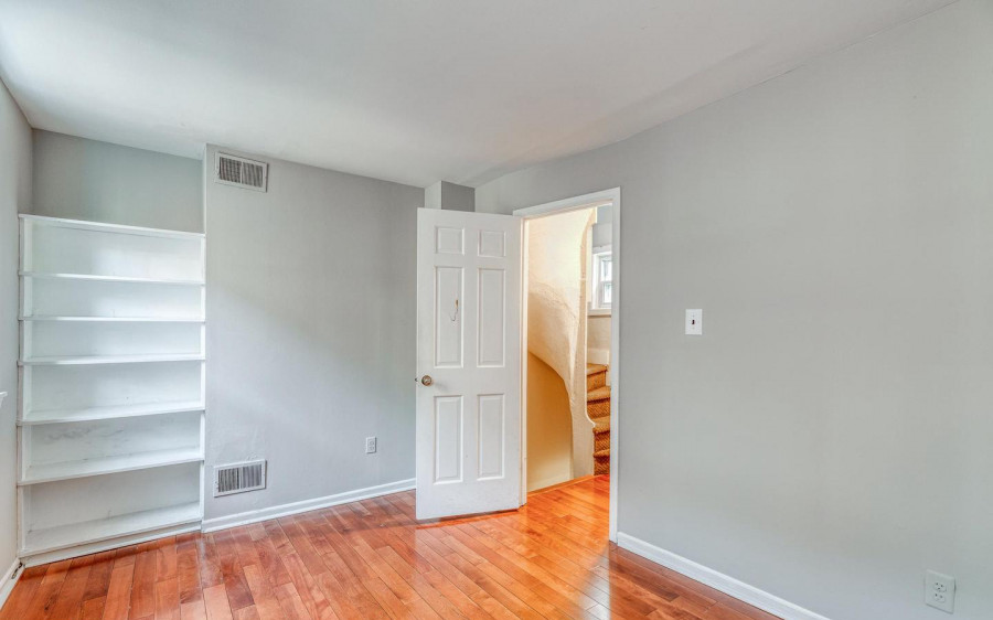 second-floor bedroom/study