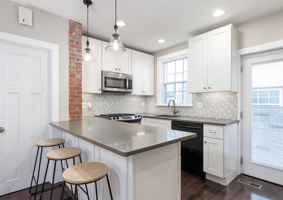 house for sale Rittenhouse square renovated trinity kitchen
