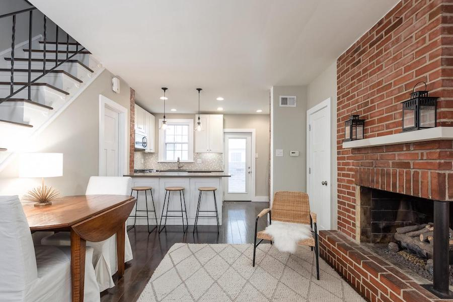 house for sale Rittenhouse square renovated trinity main floor