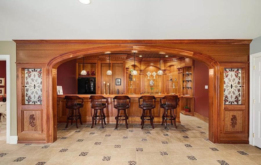 multipurpose room bar