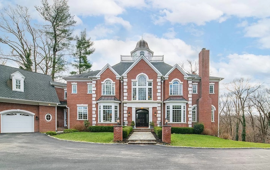 house for sale rose valley Georgian manor