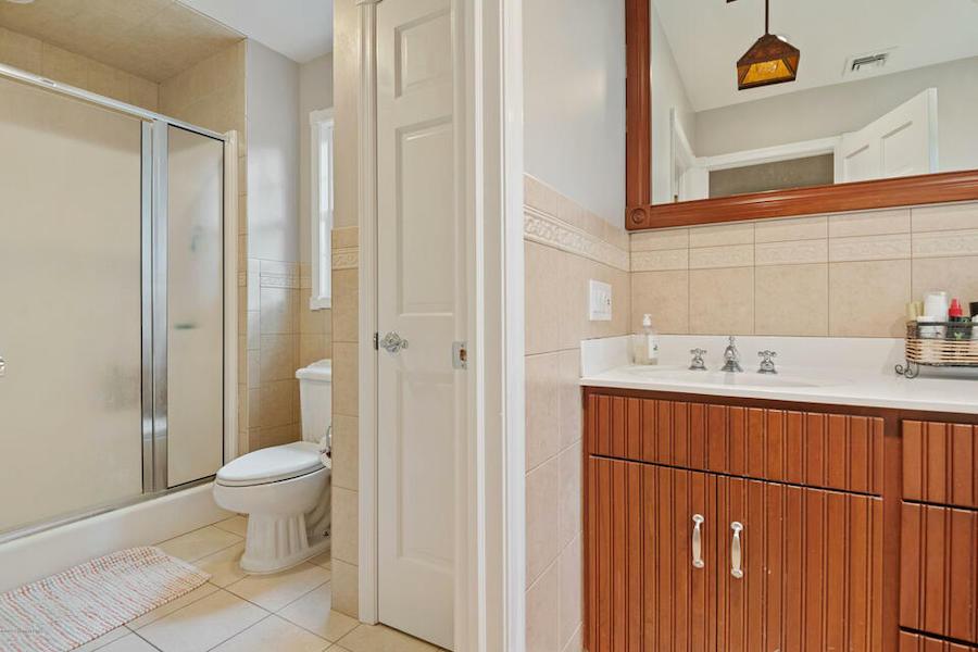 second primary bathroom