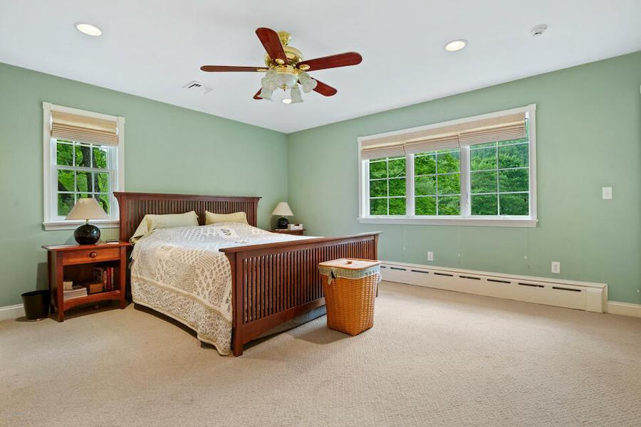 second primary bedroom