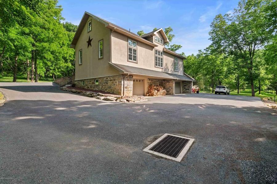 house for sale Stroudsburg estate farmhouse carriage house