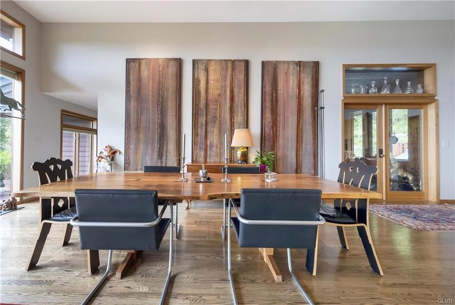 house for sale upper mt Bethel contemporary dining area