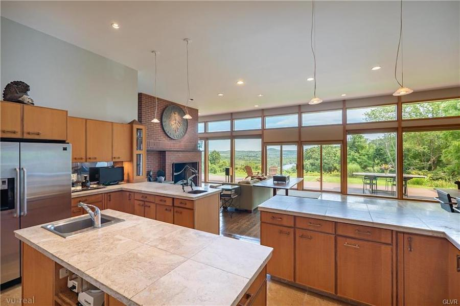 house for sale upper mt Bethel contemporary kitchen