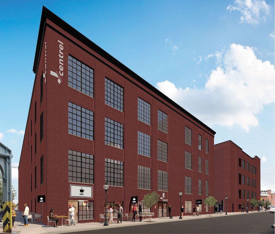 j-centrel apartment profile exterior rendering