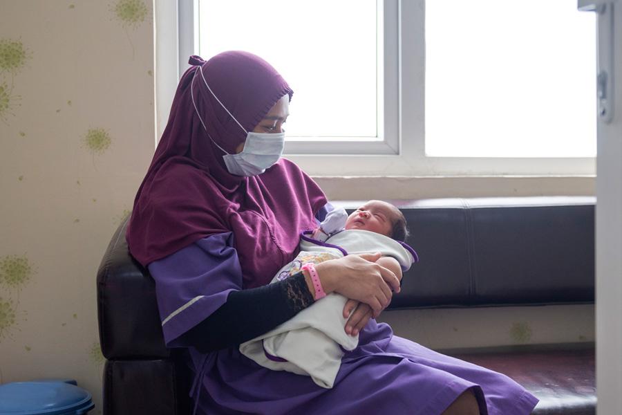 newborn babies covid antibodies