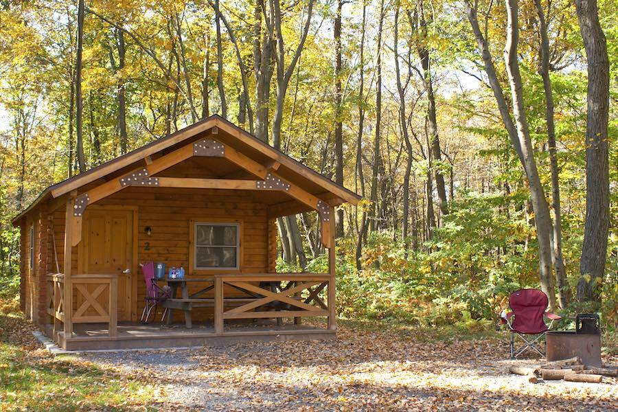 an example of cabins in pennsylvania state parks