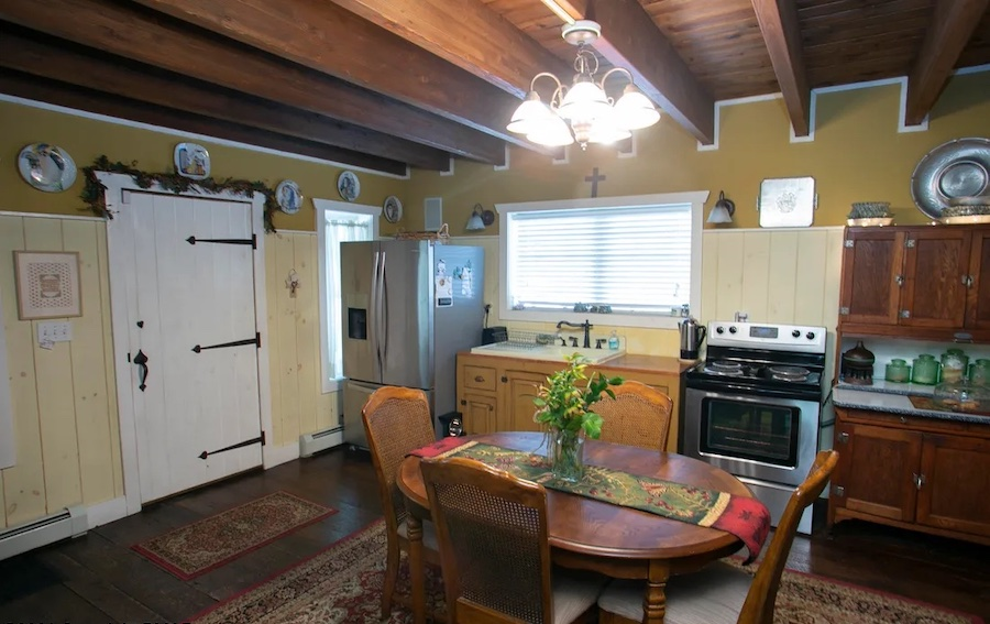 house for sale rebuilt canadensis house kitchen