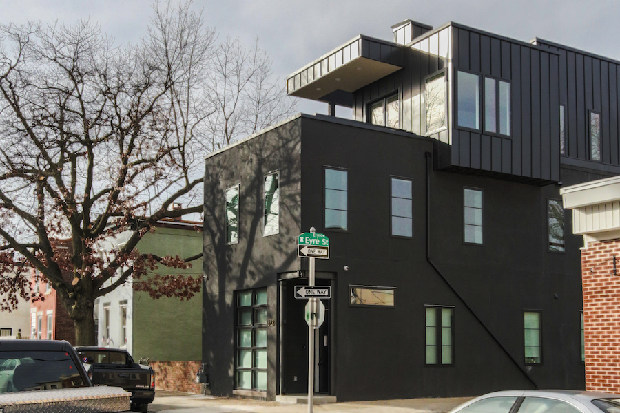 house for sale Fishtown designer townhouse exterior